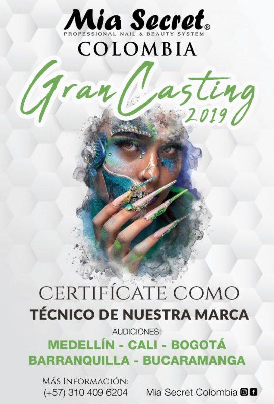 Gran casting Colombia 2019